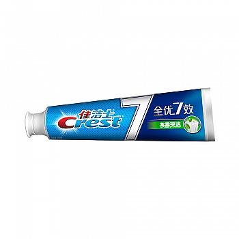 美国•佳洁士全优7效 茶香深洁 牙膏 180克