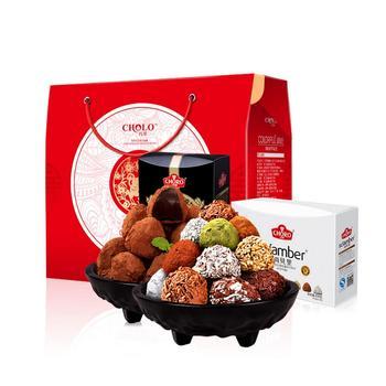 巧罗黑松露形巧克力16口味礼盒