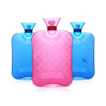 零听 暖水袋透明加厚PVC热水袋