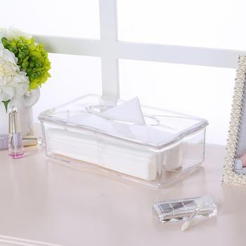 科特豪斯 家用透明纸巾盒