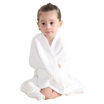 婧麒婴儿浴巾宝宝儿童纱布毛巾被