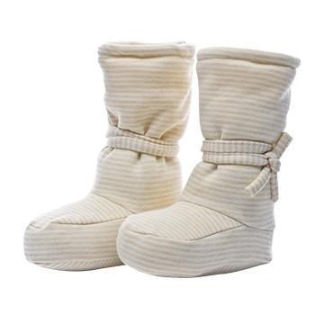 婧麒婴儿脚套新生儿加厚鞋子