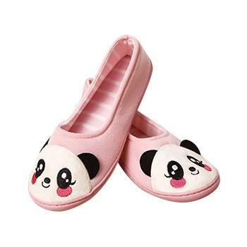 婧麒产前产后防滑月子鞋粉小熊