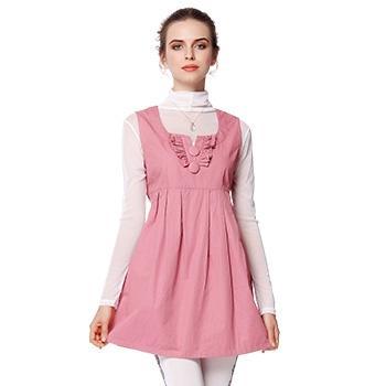 婧麒孕妇防辐射服金属纤维粉红色