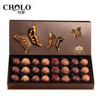 巧罗纯可可脂奢悦之美巧克力礼包