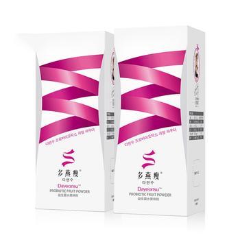多燕瘦益生菌水果味粉10袋*2盒装