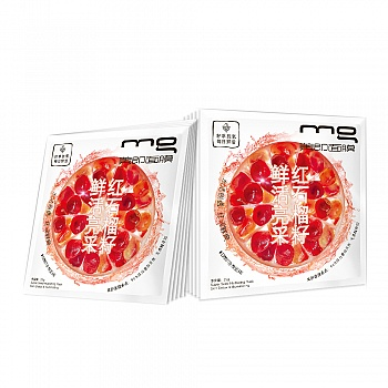 中国•MG美即红石榴籽鲜活亮采面膜10片