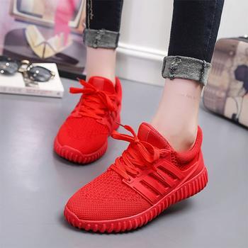 2018春夏季新款小红色运动鞋 多色