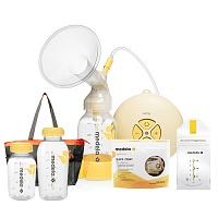 瑞士•美德乐丝韵礼包套餐(丝韵电动吸乳器1台+150ML奶瓶1个+250ML奶瓶1个+5片奶袋1盒+1片微波炉消毒袋1盒+挎包1个 )