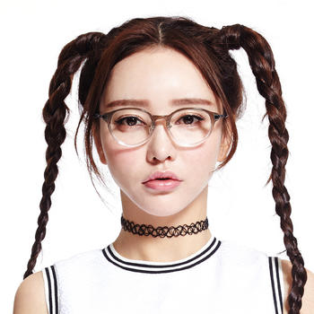 音米圆形复古百搭眼镜框