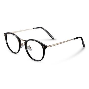 音米复古韩版平光眼镜架明星同款