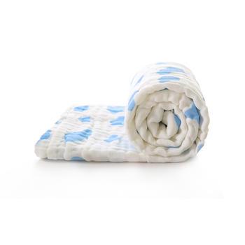 中国•澳斯贝贝 婴儿棉质云朵纱布浴巾