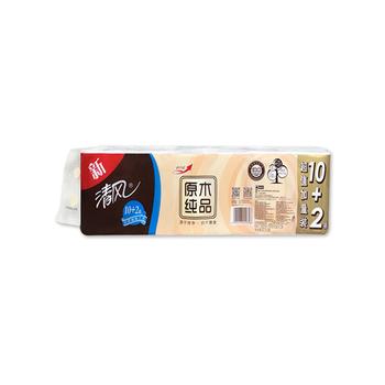 中国•清风12卷无芯卷纸900克