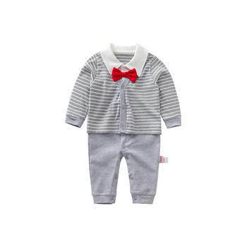 Cipango 灰色绅士婴幼儿可爱哈衣