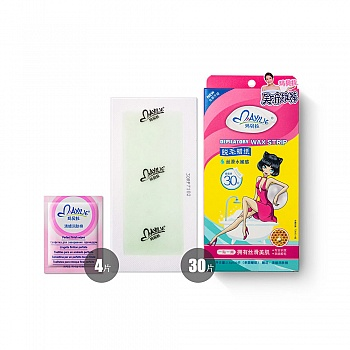 意大利•玛贝拉脱毛蜡纸丝滑水嫩感2.5g*30片