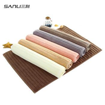三利地垫 纯棉加厚吸水卫浴地巾
