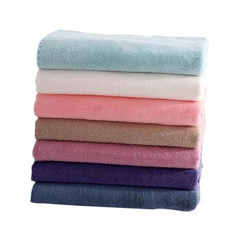 忆梦思imoons柔软珊瑚绒毛浴巾套装
