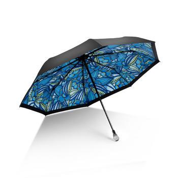 德国iRain三折如梦水晶手柄晴雨伞