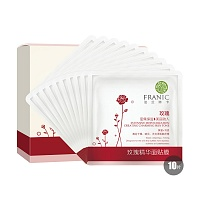 中国•法兰琳卡玫瑰精华面贴膜25ml*10片