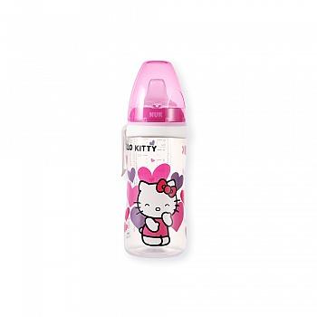德国•NUK活力学饮杯(Hello Kitty印花带硅胶软嘴)