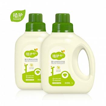 中国•植护婴儿洗衣液瓶装1L*2瓶