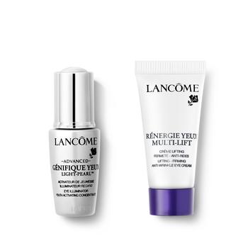 兰蔻 (Lancome)眼部修护两件组(眼部精华肌底液5ml+新塑颜修护眼霜5ml)