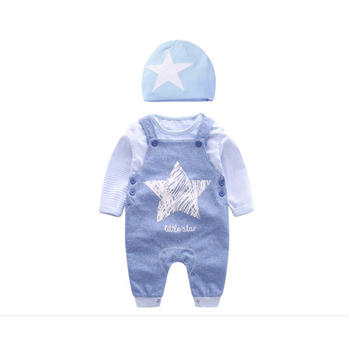ROUTY罗町 春秋新款婴儿背带套装