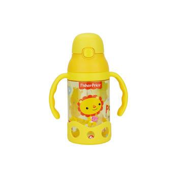 美国•费雪儿童弹跳吸管学饮杯粉黄色