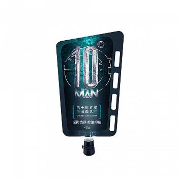 中国•10度男士海底泥洁面乳40g
