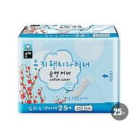韩国•恩芝纯棉护垫(155mm/25P)