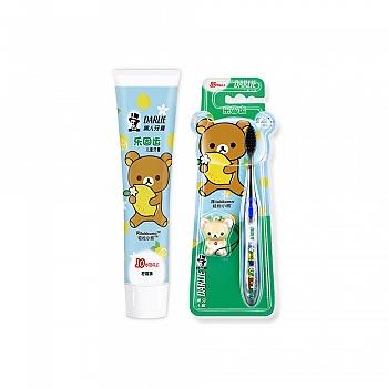 中国•黑人乐固齿儿童牙膏60g(10+)*1+乐固齿儿童牙刷(10+)*1