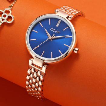 聚利时新款时尚精钢女士手表女表