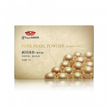 中国•京润珍珠(gNpearl)纯珍珠粉(微米级)25g