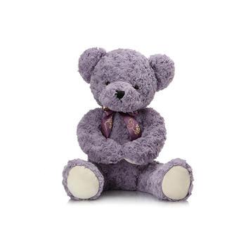 柏文熊正版领结害羞熊公仔毛绒玩具玩偶泰迪熊60cm