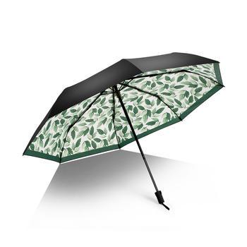 德国iRain伞清新黑胶防紫外线晴雨伞