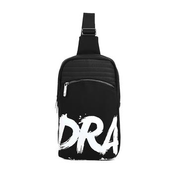 DRA字母涂鸦印花时尚男士胸包潮