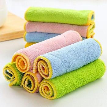 态美 5条装 双面吸水抹布洗碗巾