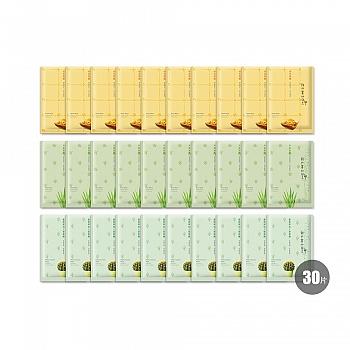 中国•我的美丽日志纳豆芦荟仙人掌补水舒缓15片送15片