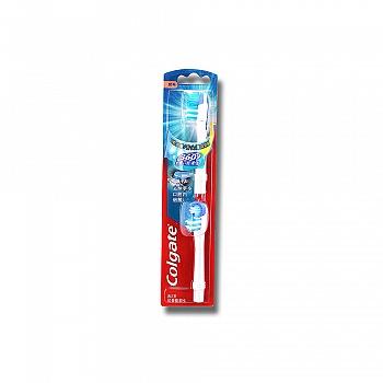 高露洁(Colgate)360全面口腔清洁电动牙刷刷头2支装(360系列通用)