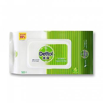 中国•Dettol 滴露 卫生湿巾50片