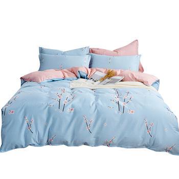 荻嘉茂 全棉斜纹床单被套四件套 浮生若梦 多规格