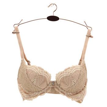 黛安芬简约花纹性感舒适女性胸罩