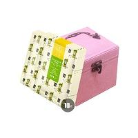 中国•茶颜10片粉嫩匀亮套装(乌龙茶面膜5片*2+首饰盒)