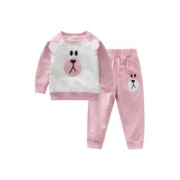 Cipango可爱婴儿衣服长袖裤子套装