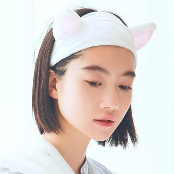 三利 明星同款 猫耳朵束发带