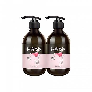 宣琪玫瑰沐浴皂液550ml*2