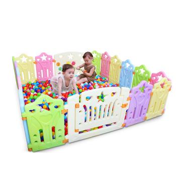 儿童游戏围栏 室内安全学步栅栏