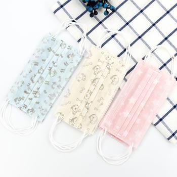 态美 10包装 一次性印花印花口罩