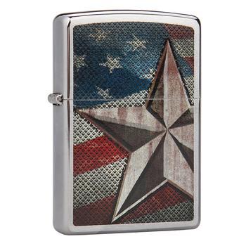 之宝(zippo)28653 拉丝美国星旗