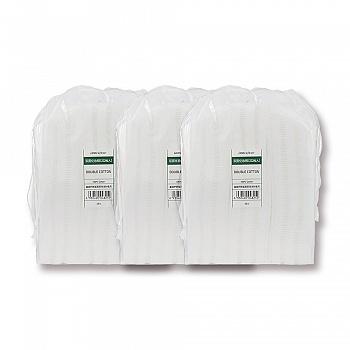 [3袋装]悦诗风吟乐活自然工具-双面化妆棉 222枚